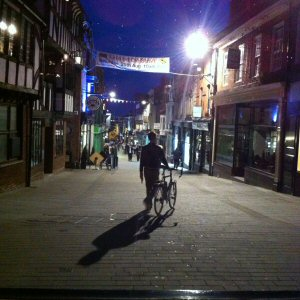 Midnight On Lincoln High Street - 6x6
