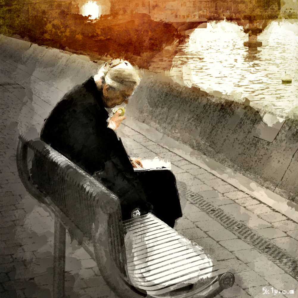 iphoneography - Whistlers Mother